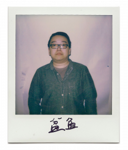 Boyuan, artist standing in front of the camera